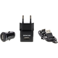 SCO 515-000BK USB KIT 1M/WALL/CAR SENCOR