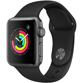 Smart hodinky APPLE Watch S3 38mm, SpaceGrey
