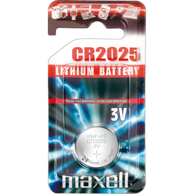 CR2025 1BP Li MAXELL