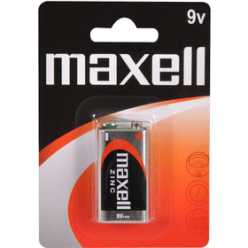 6F22 1BP 9V Zn MAXELL