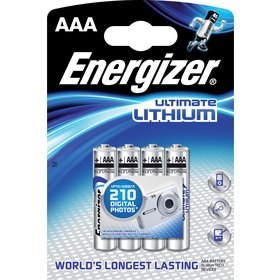 BAT ULTIMATE LITH FR03/4 4xAAA ENERGIZER