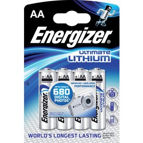 BAT ULTIMATE LITH FR6/4 4xAA ENERGIZER