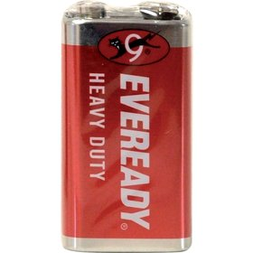6F22 1S 9V Red Zn EVEREADY