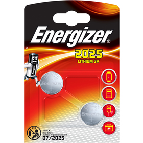 BAT LITHIUM CR2025 twin pack _ENERGIZER