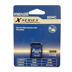 SDHC 32GB CL10 X-SERIES 854424 MAXELL