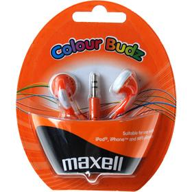 303360 COLOUR BUDZ ORANGE slúchad.MAXELL