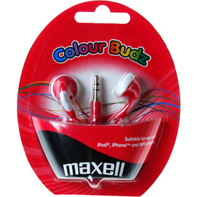 303365 COLOUR BUDZ RED SLUCH. MAXELL