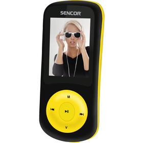 SFP 5870 BYL 8GB MP3/MP4 PLAYER SENCOR