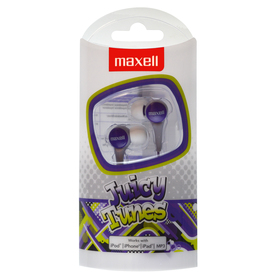 303598 JUICY TUNES PURPLE SLUCH. MAXELL