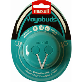 303730 YOYO BUDS GREEN+WHITE MAXELL