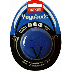 303728 YOYO BUDS BLUE+BLACK MAXELL