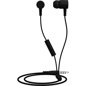 303617 SPECTRUM EARPHONE BLACK MAXELL