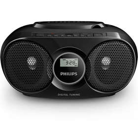 AZ318B/12 prenos. rádio s CD/MP3 PHILIPS