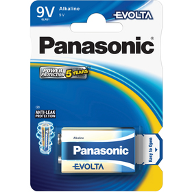 6LR61 1BP 9V Evolta alk PANASONIC