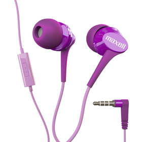303993 FUSION EARPHONES FLOWER MAXELL