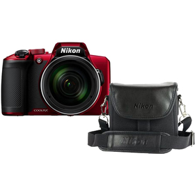 COOLPIX B600 Red + Case NIKON