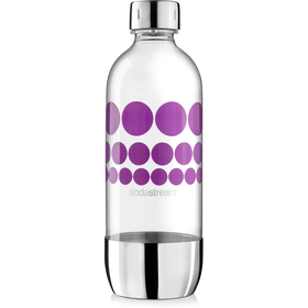 Lahev 1l PURPLE METAL SODASTREAM