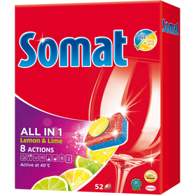 ALL IN ONE LEMON 52KS TABLETY SOMAT + DÁREK v..