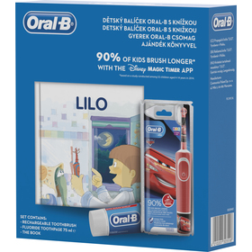 VITALITY KIDS D100 CARS DÁRK.SET ORAL-B