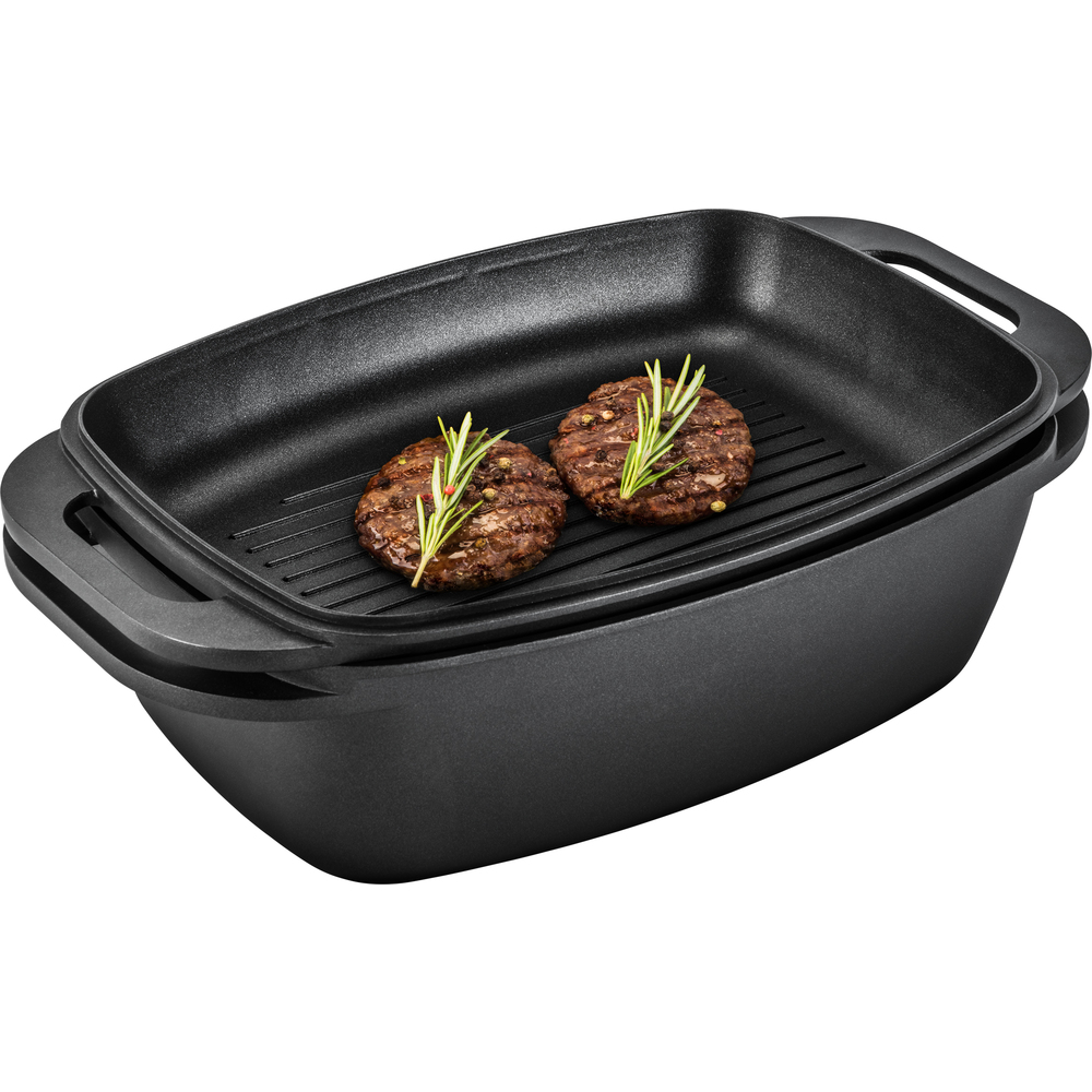 Roasting Pan With Grilling Lid Lt1105 Lamart