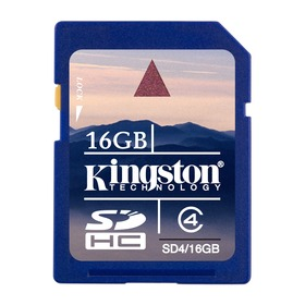 Paměťová karta KINGSTON SDHC SD4/16GB