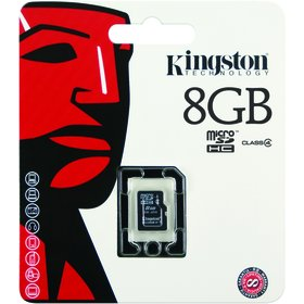 MicroSDHC 8GB CL4 SP SDC4     KINGSTON