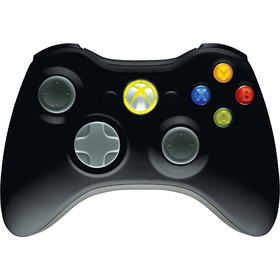 Xbox 360 Wireless Controler BK MICROSOFT