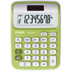 MS 6 NC/GN green CASIO