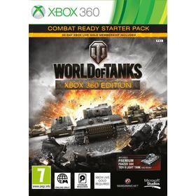 XBOX 360 World of Tanks hra MICROSOFT