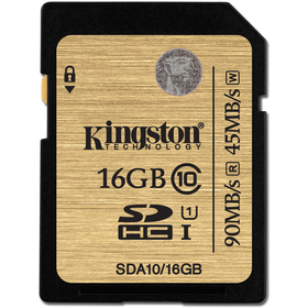 Paměťová karta KINGSTON SDA10/16GB