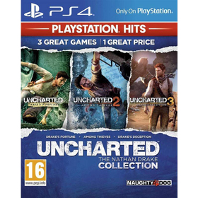 Hra pro PS4 SONY Uncharted Collection set 3 her