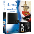 PS4 1TB + 5 her(UNCH1,2,3, GOW3, TLOU)