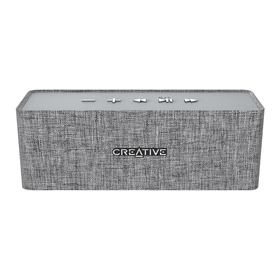 Bluetooth speaker NUNO grey CREATIVE