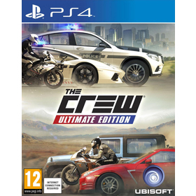 Hra pro PS4 UBISOFT The Crew Ultimate Edition