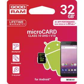MicroSDHC 32GB CL10 for Android GOODRAM