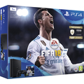 PS4 1TB slim black + FIFA 18 + PS PLUS