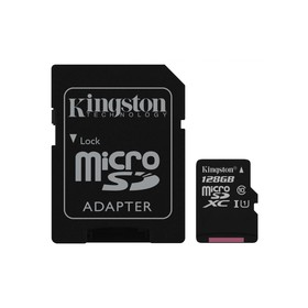MicroSDXC 128GB UHS-1 SDCS KINGSTON