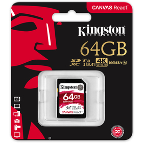 Paměťová karta KINGSTON SDXC SDR/64GB