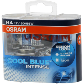 H4 COOL BLUE INTENSE Duo-Box OSRAM