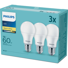 LED 60W A60 E27 230V WW FR 3CT PHILIPS